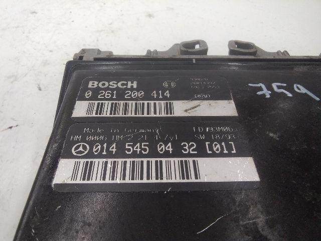 Használt 0261200414 Motorvezérlő egység / ECU / PCM modul Alkatrész