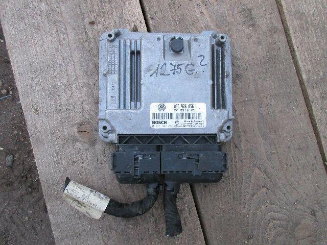Használt 03C906056L Motorvezérlő egység / ECU / PCM modul Alkatrész