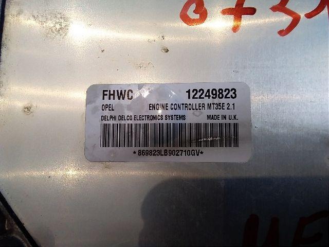 Használt 12249824 Motorvezérlő egység / ECU / PCM modul Alkatrész