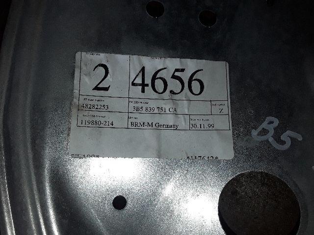 Használt 3B5839751CA Bal hátsó ablakemelő szerkezet (elektromos) Alkatrész