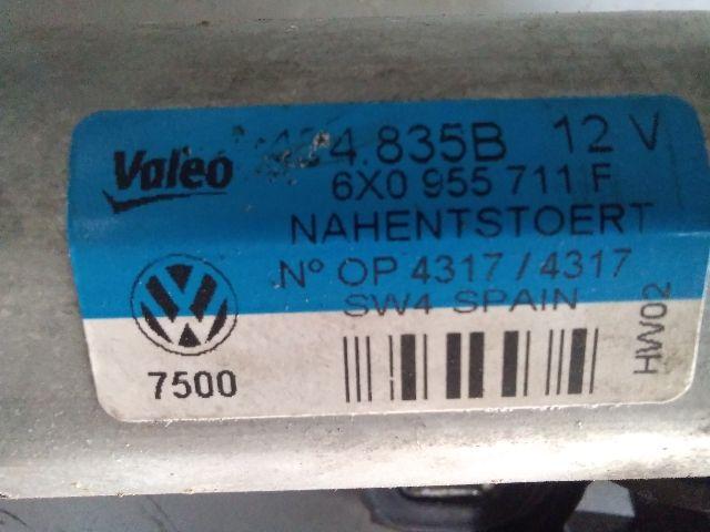 Használt 424835B12V Ablaktörlő motor hátsó Alkatrész