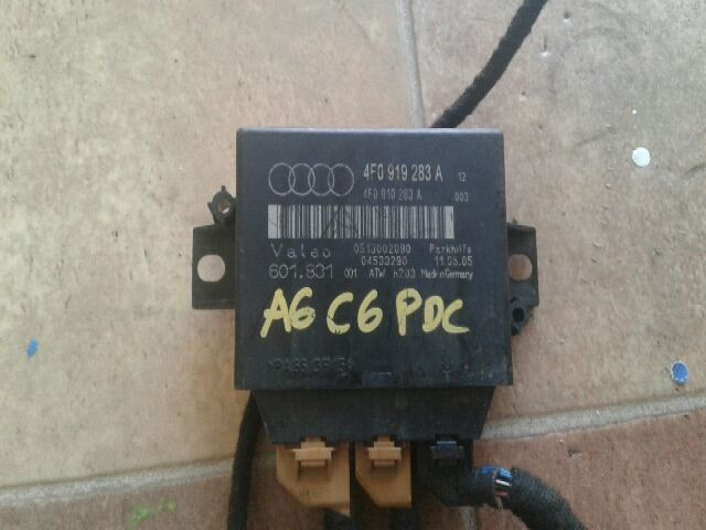 Használt 4F0919283A PDC modul / parkolássegítő vezérlő Alkatrész
