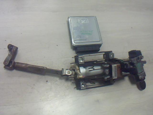 Használt 4s7112a650me Gyújtáskapcsoló házzal Alkatrész