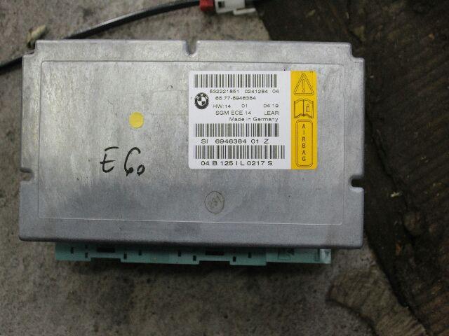 Használt 6946384 Légzsák vezérlőegység Alkatrész