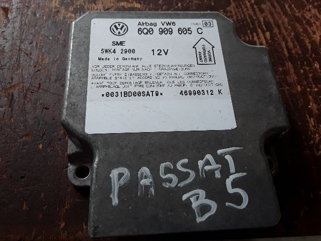 Használt 6Q0909605C Légzsák vezérlőegység Alkatrész