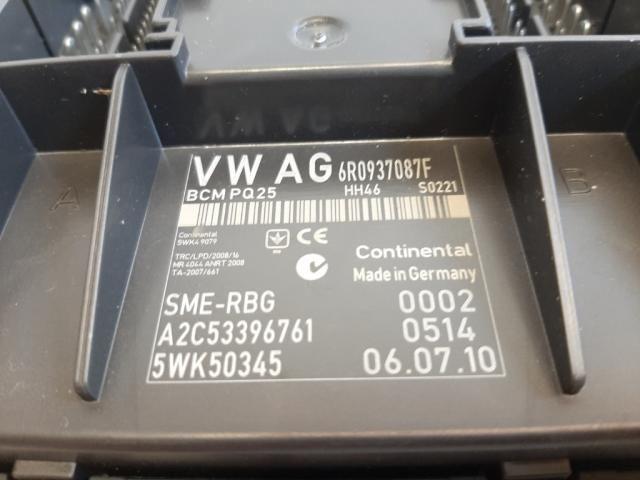 Használt 6R0937087F Komfort modul / elektronika Alkatrész
