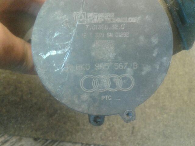 Használt 8K0965567B Vízpumpa / Vízszivattyú / Keringető szivattyú Alkatrész