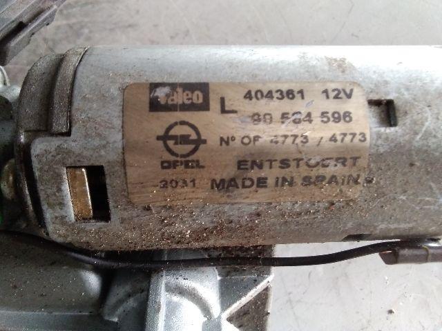 Használt 90564596 Ablaktörlő motor hátsó Alkatrész