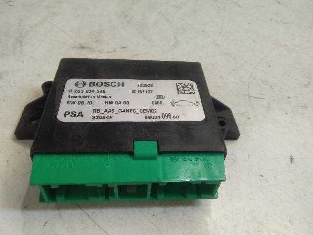 Használt 9800409680 PDC modul / parkolássegítő vezérlő Alkatrész