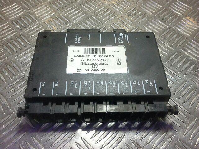 Használt A1635452132 Ülés vezérlő / modul Alkatrész