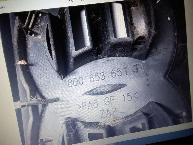 bontott AUDI A4 B5 Hűtőrács