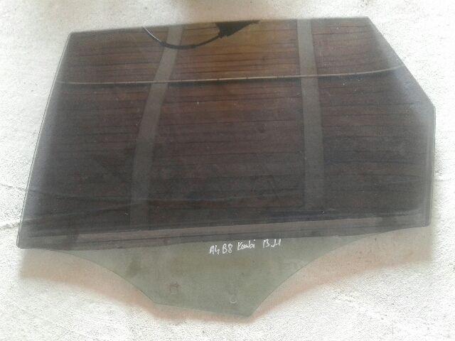 Használt AUDI A4 B8 Bal hátsó ablak / ajtóüveg Alkatrész