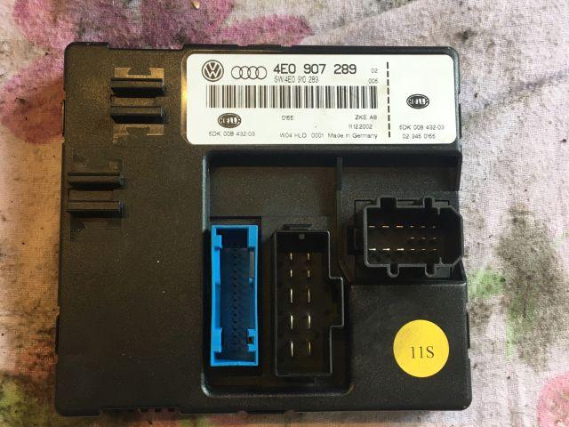 bontott AUDI A8 Komfort Elektronika