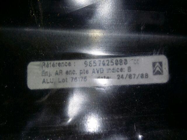 Bontott CITROËN C5 III (RD_) 1.6 HDi Jobb első ajtókeret borítás Alkatrész