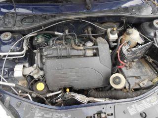 bontott DACIA SANDERO Jobb hátsó Ablakemelő Szerkezet (Mechanikus)