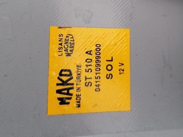 Használt FIAT ALBEA 1.4 i Bal külső hátsó lámpa Alkatrész