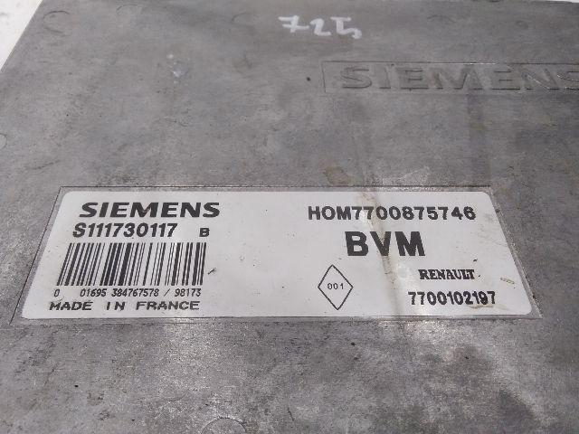Használt hom7700875749 Motorvezérlő egység / ECU / PCM modul Alkatrész