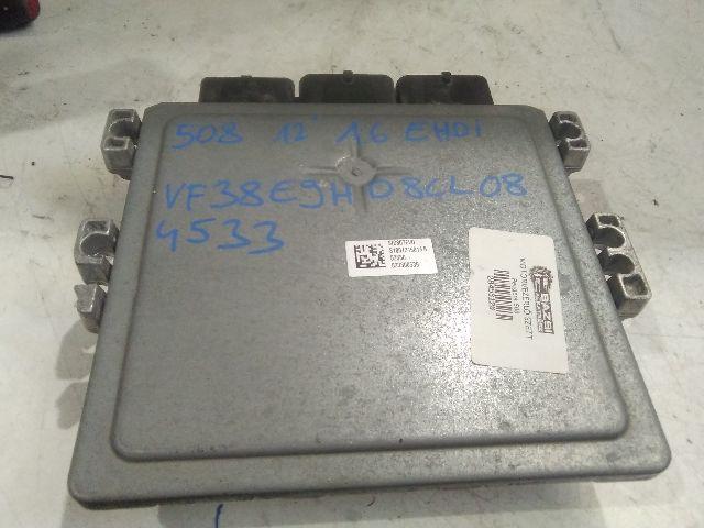 Használt HW9666681180 Motorvezérlő egység / ECU / PCM modul Alkatrész