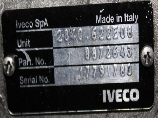 Használt IVECO DAILY 35C14 G, 35C14 G/P, 35S14 G, 35S14 G/P, 35C14 GD, 35S14 GD Váltó / Sebességváltó (manuális) Alkatrész