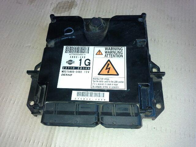 Használt MB2758003492 Motorvezérlő egység / ECU / PCM modul Alkatrész