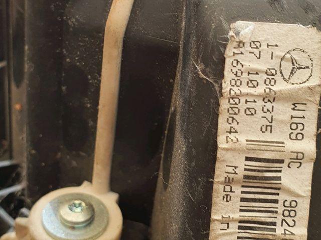 bontott MERCEDES-BENZ A-CLASS Fűtőmotor (Nem klímás)