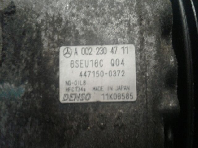 Bontott MERCEDES-BENZ B-CLASS (W245) B 180 CDI (245.207) Klímakompresszor Alkatrész