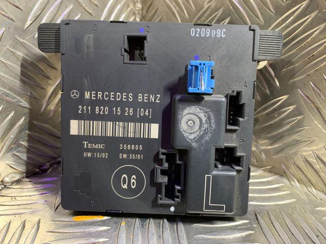 bontott MERCEDES-BENZ E-CLASS Bal hátsó Ajtó Vezérlőegység