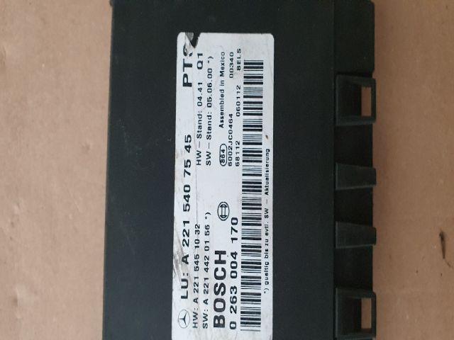 bontott MERCEDES-BENZ S-CLASS Tolatóradar Elektronika