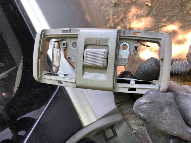 Használt MITSUBISHI CARISMA Beltér / utastér világítás hátsó Alkatrész
