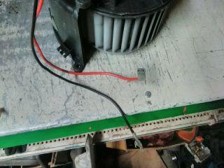 bontott OPEL ASTRA G Fűtőmotor (Klímás)