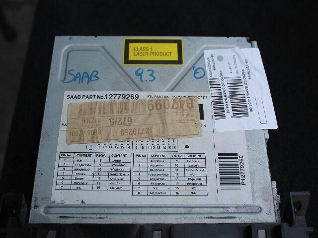 Használt SAAB 9-3 Autórádió / CD fejegység / Hifi audio / Kezelőegység Alkatrész