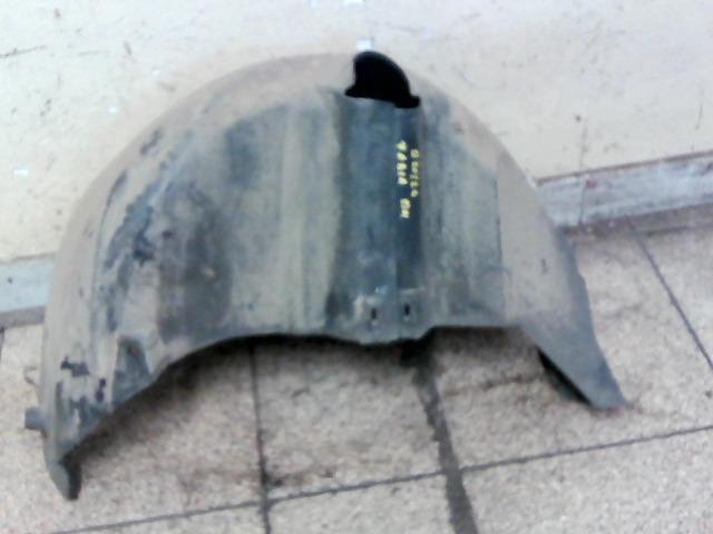bontott SKODA FABIA I Bal hátsó Dobbetét (Kerékjárati, Műanyag)