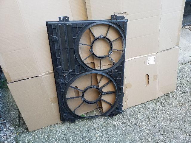 Használt SKODA SUPERB II 1.9 TDI Hűtőventilátor keret Alkatrész